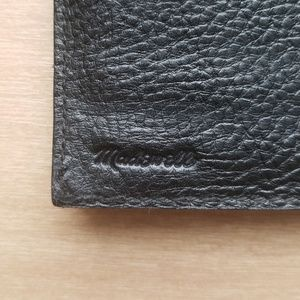 Madewell Bags - Madewell Post Wallet Black